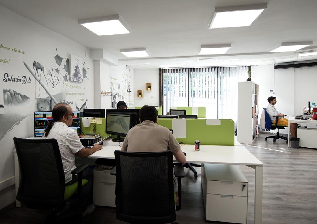 coworking barcelona floor 8