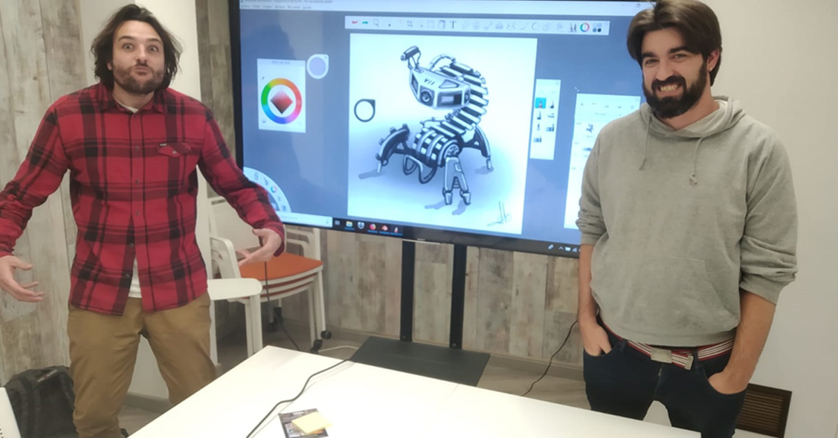 diseño enfocado a los videojuegos en algri coworking barcelona